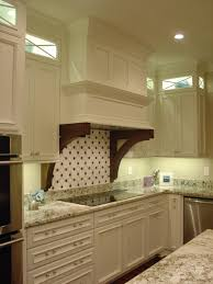 decorative range hoods farmhouse kitchen with white and stained