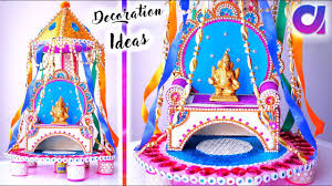 Bana Home Decor Learn Quick And Easy Ganpati Decoration Ideas For Home Artkala
