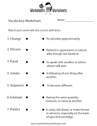 vocab worksheets printable vocabulary worksheets free printable worksheets for teachers and