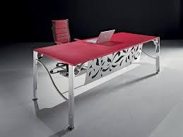 Bureau Verre Design Contemporain - bureau design flower montpellier 34 nîmes 30 sète