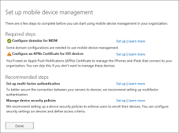 set up mobile device management mdm in office 365 office 365