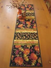 thanksgiving table runner fall harvest quilted table runner fall