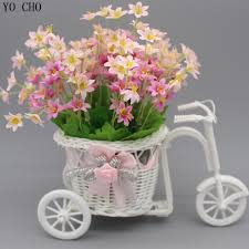 Flower Decorations For Home by Online Get Cheap Christmas Flower Baskets Aliexpress Com
