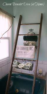 Pottery Barn Ladder Shelf Our Hopeful Home Diy Pottery Barn Bath Storage Ladder