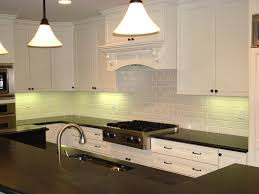 home design tile backsplash white cabinets black countertops