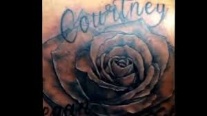 cover up tattoo with a rose n name tattoos youtube