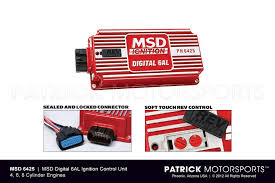 msd digital 6al 6425 ignition control with adjustable rev limiter
