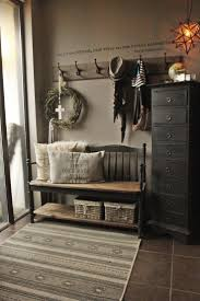 bench wooden bench beautiful industrial entryway bench theater
