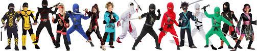Halloween Costume Ninja Halloween Martial Arts Costume