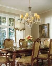 crystal chandeliers for dining room chandeliers cottage style dining room illuminated with double