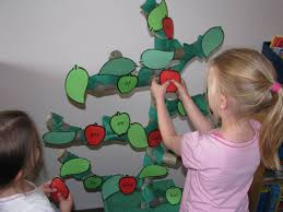 apple sight word activity with paper mache tree learning 4 kids