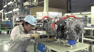 toyota manufacturing toyota mirai production line chassis and fuel cell system