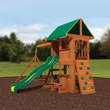 Cedar Playsets Amazon Com Backyard Discovery Somerset All Cedar Wood Playset