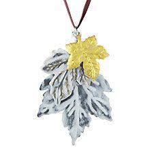 Outdoor Christmas Decorations John Lewis by Buy John Lewis Midwinter Golden Tabletop Stag Decoration 50cm