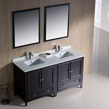 Traditional Bathroom Vanities Fresca Fvn20 3030aw Oxford Antique White Double Basin Bathroom
