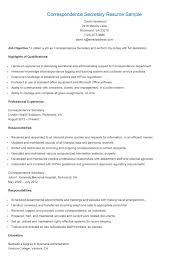 Administrative Secretary Resume Sample by Secretary Resume Templates