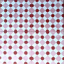 Carrelage Rouge Sol by Carreaux Ciment Pas Cher Sol Et Mur 1m2 Modele Frizy Rouge