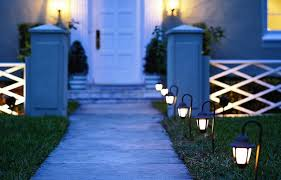 how to put in landscape lighting this old house