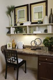 Built In Desk Ideas Small Space Home Office Designs Interior Design