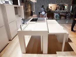 table amovible cuisine cuisine ilot table escamotable rg06 jornalagora