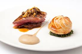cuisine pigeon roast wood pigeon recipe great chefs