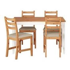 table de cuisine ikea bois jokkmokk table and 4 chairs antique stain pine and