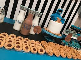 cookie monster baby shower parties