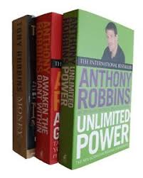 anthony robbins 3 book self help success coach finance mind