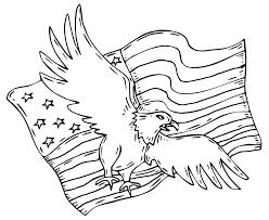 patriotic eagle coloring pages getcoloringpages com