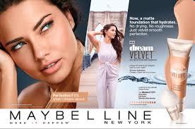 maybelline cosmetic advertising cosmetic u0026 skincare advertising