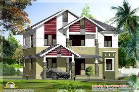 Kerala Home Design Kozhikode by Simple Stylish House Kerala Home Design Floor Plans House Plans