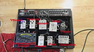 Homemade Pedal Board Design by A Tale Of Two Pedalboards Tonefiend Com