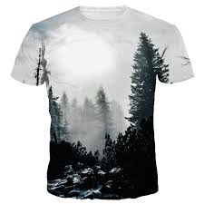 Tree Shirt Shop New Arrivals Fashion 3d T Shirt Print Winter