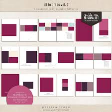 8x10 Photo Album Book Hi Res Templates Perfect For Photobooks And Layouts Freebie