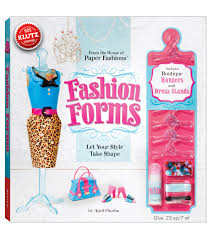 klutz fashion forms book kit lexie gift pinterest fashion
