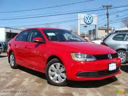 red volkswagen jetta 2011 volkswagen jetta se sedan in tornado red 056411 auto