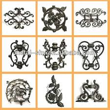 cast iron metal ornaments for gate decoration buy cast iron