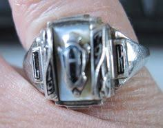 high school class ring companies 1963 northwood high school class ring size 5 10k yellow gold