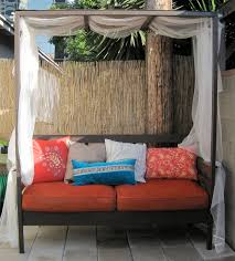 Outdoor Daybed With Canopy White Outdoor Daybed With Canopy Diy Projects
