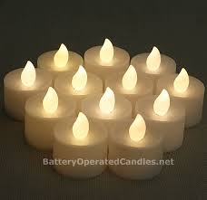 no flicker flamless tea lights warm white led battery