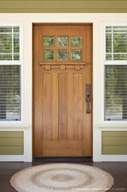 Craftsman Style Homes Interiors by Best 25 Craftsman Style Front Doors Ideas On Pinterest