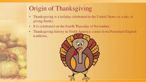 Significance Of Thanksgiving Day In America Thanksgiving