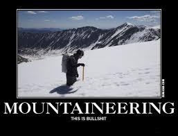 motivational posters for mountain climbers semi rad com