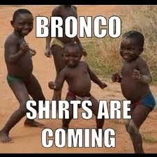 African Kid Meme Clean Water - photo denver broncos super bowl chion t shirts arrive in