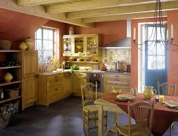 Kitchen Wall Paint Color Ideas by Warm Country Kitchen Light Brown Yellow Pastel Shades The Best