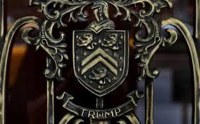 donald family crest granted to mar a lago s original