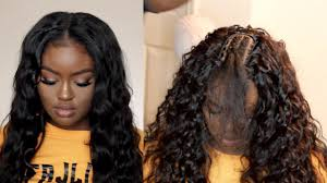 sew in traditional sew in tutorial natural middle part the braid down