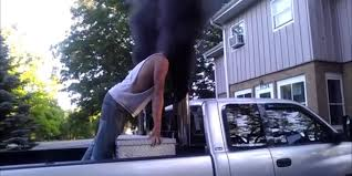 Ford Diesel Truck Decals - political protest or just blowing smoke anti environmentalists
