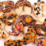 Decorated Gourmet Cookies Halloween Cookie Bouquet Gourmet Cookie Bouquets