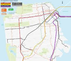 Vta Light Rail Map Large Scale Bart San Francisco Fantasy Expansion Map Transit